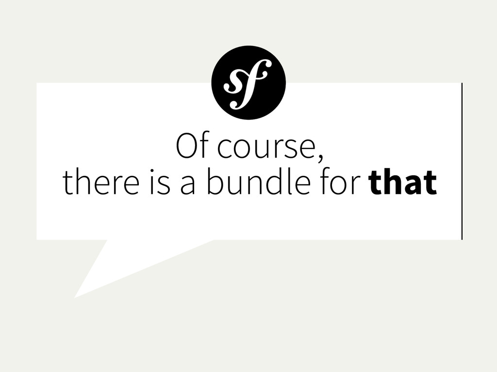 Of course, there is a bundle for that