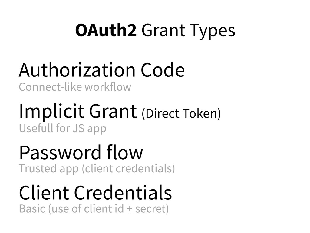 OAuth2 Grant Types Authorization Code Connect-l...