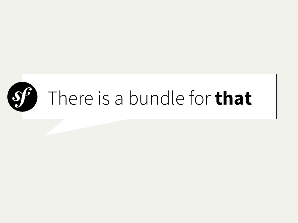 There is a bundle for that
