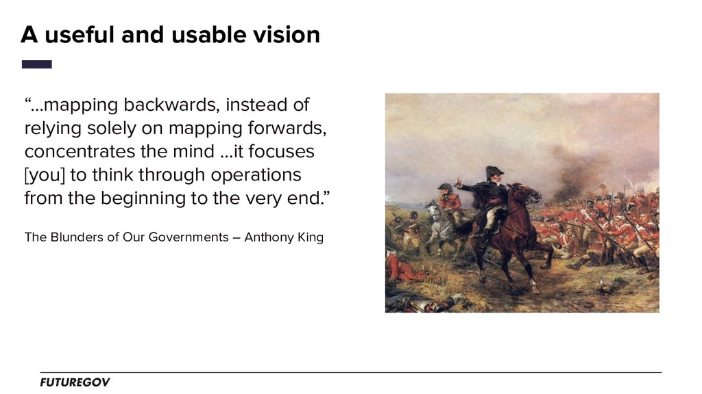"""…mapping backwards, instead of relying solely ..."