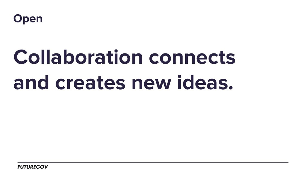 Collaboration connects and creates new ideas. O...