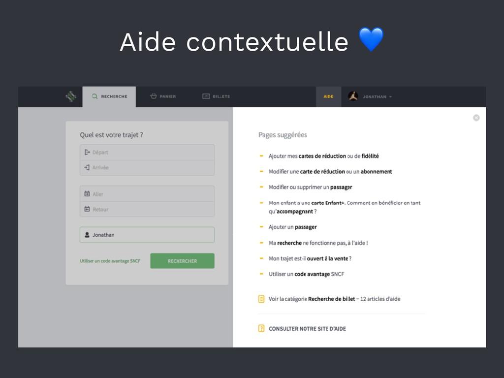 Aide contextuelle