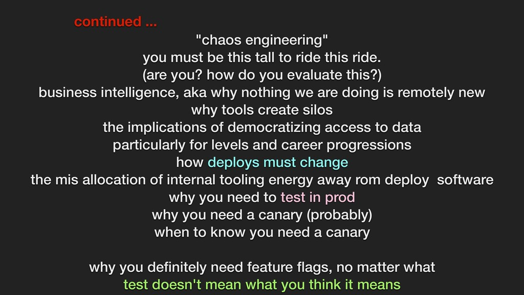 """chaos engineering"" you must be this tall to ri..."