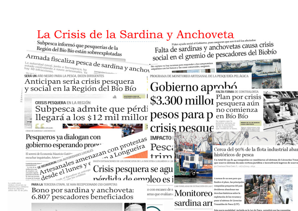 La Crisis de la Sardina y Anchoveta