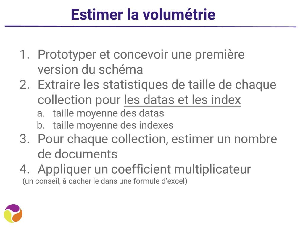 Estimer la volumétrie 1. Prototyper et concevoi...