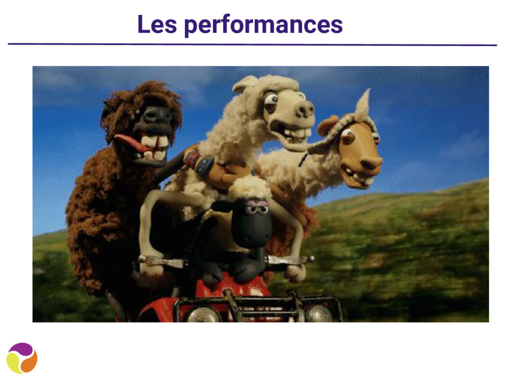 Les performances