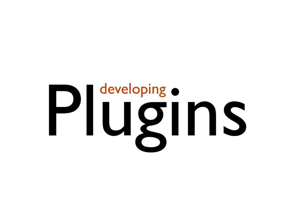 Plugins developing