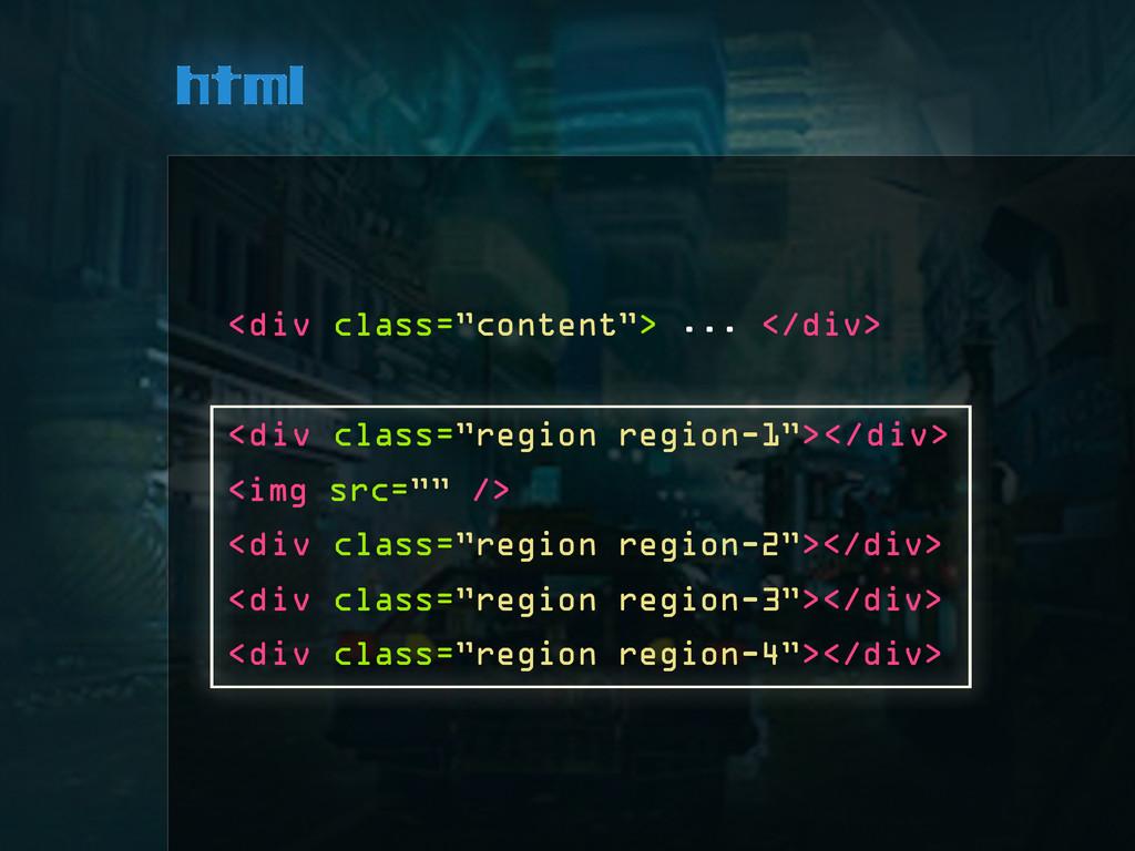 """html <div class=""""content""""> ... </div> <div clas..."""
