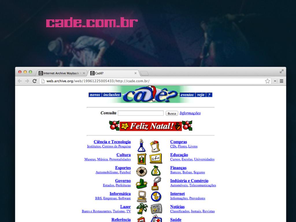 cade.com.br