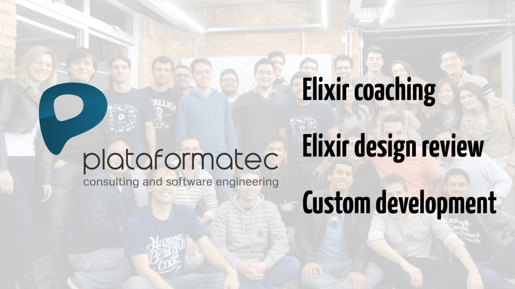 consulting and software engineering Elixir coac...