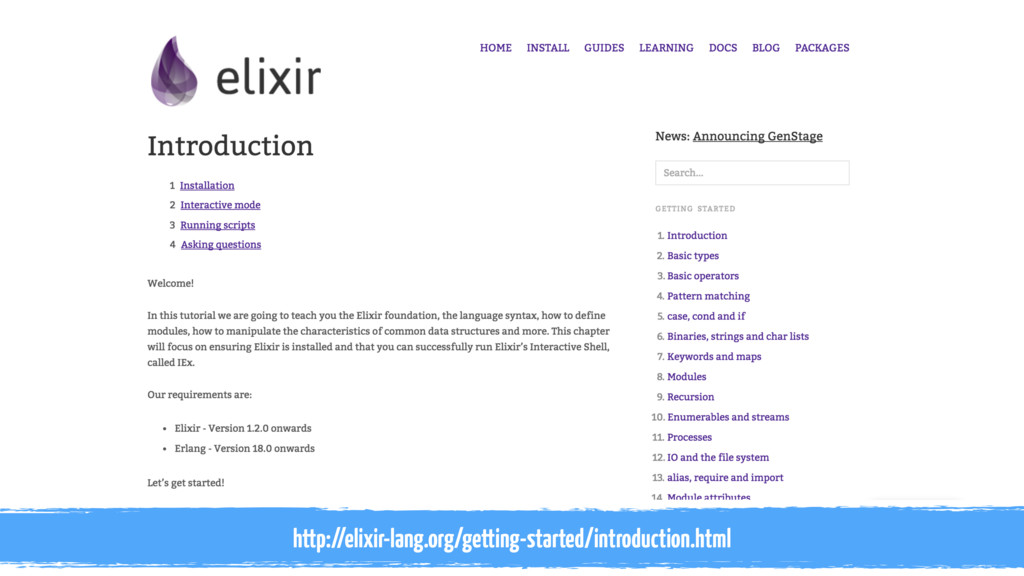 http://elixir-lang.org/getting-started/introduc...
