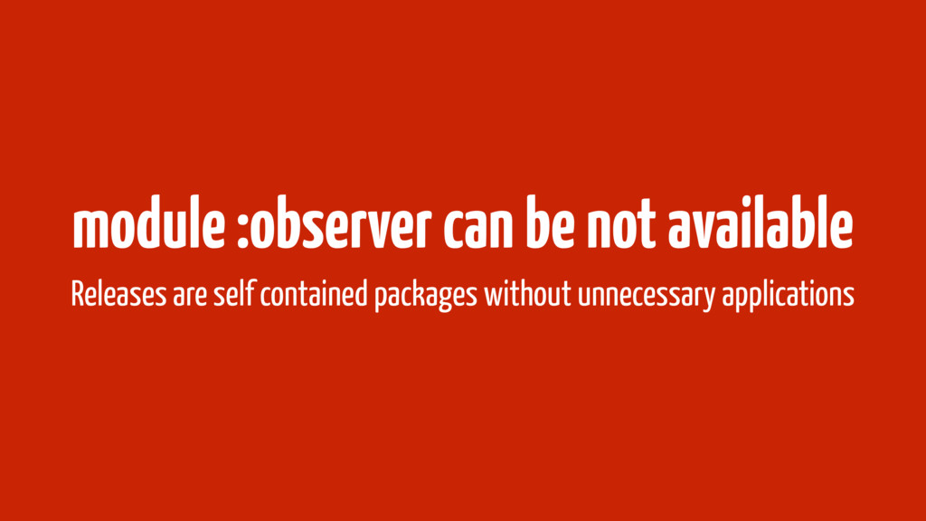 module :observer can be not available Releases ...