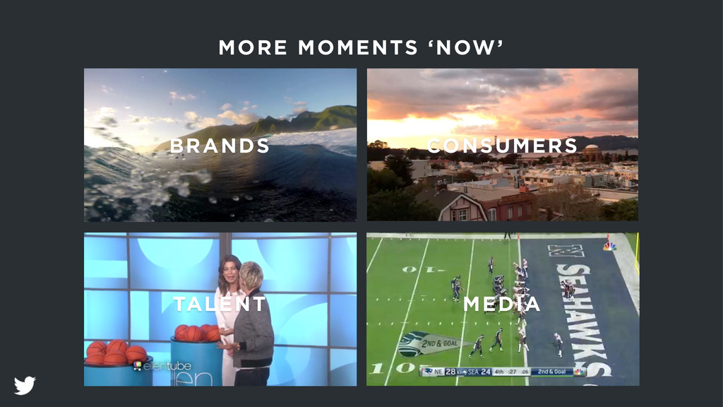 BRANDS CONSUMERS TALENT MORE MOMENTS 'NOW' MEDIA