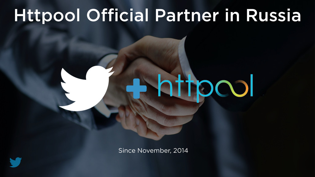 Httpool Official Partner in Russia Since November...