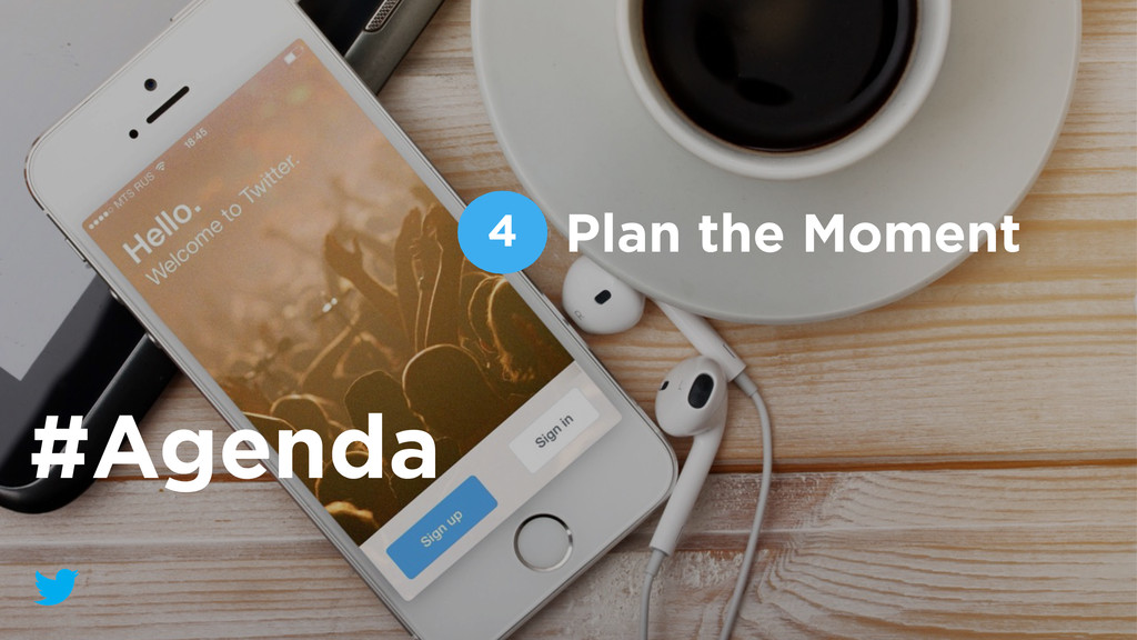 Plan the Moment 4 #Agenda