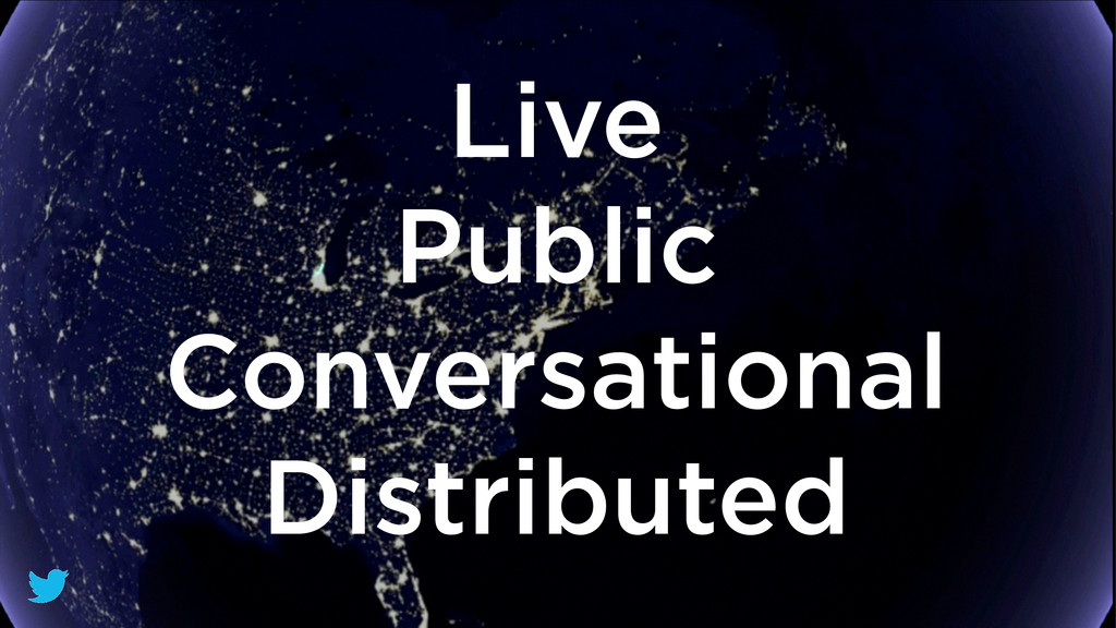 Live Public Conversational Distributed