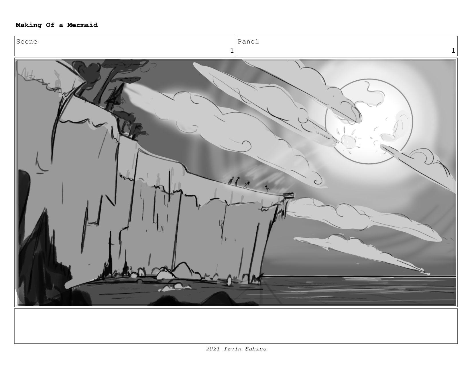 Scene 1 Panel 1 Making Of a Mermaid Updated 08/...