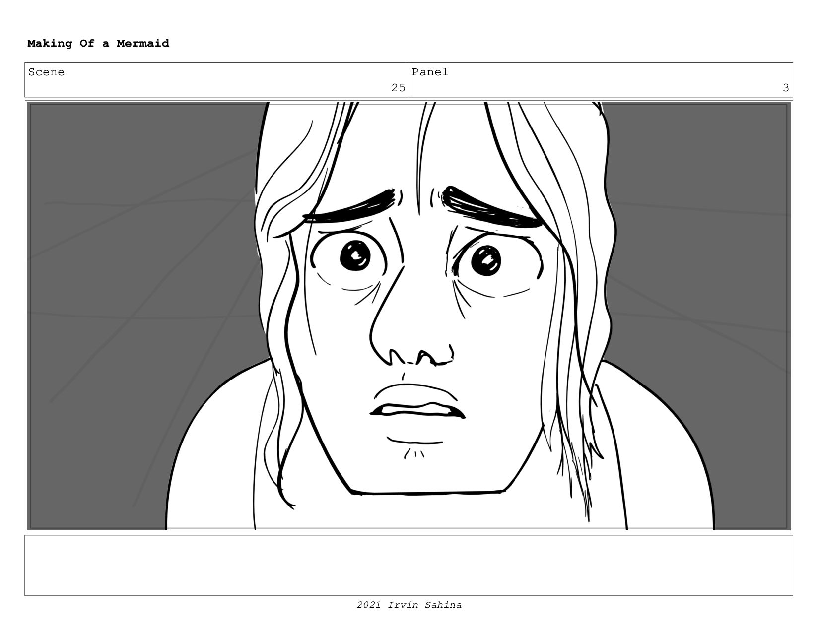 Scene 32 Panel 4 Making Of a Mermaid Updated 08...