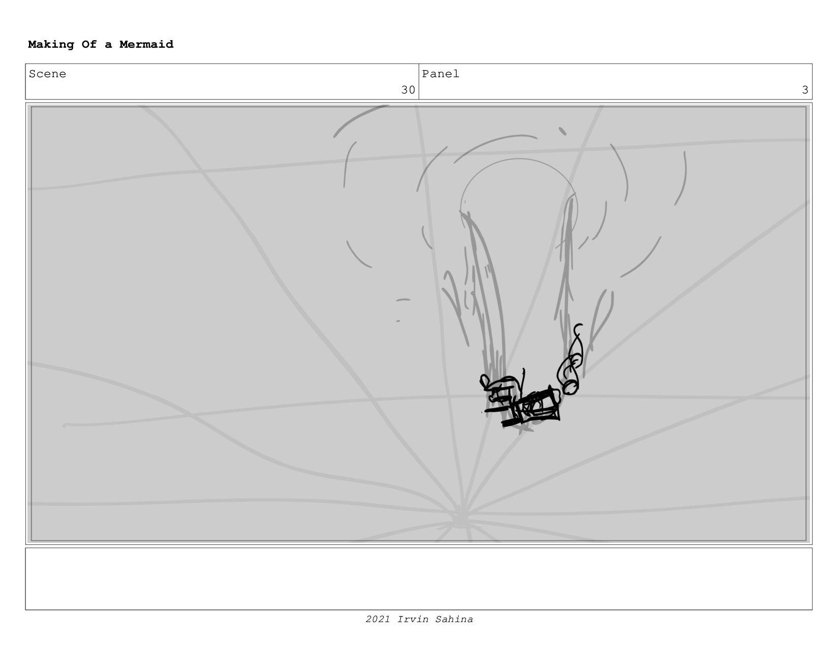Scene 39 Panel 2 Making Of a Mermaid Updated 08...