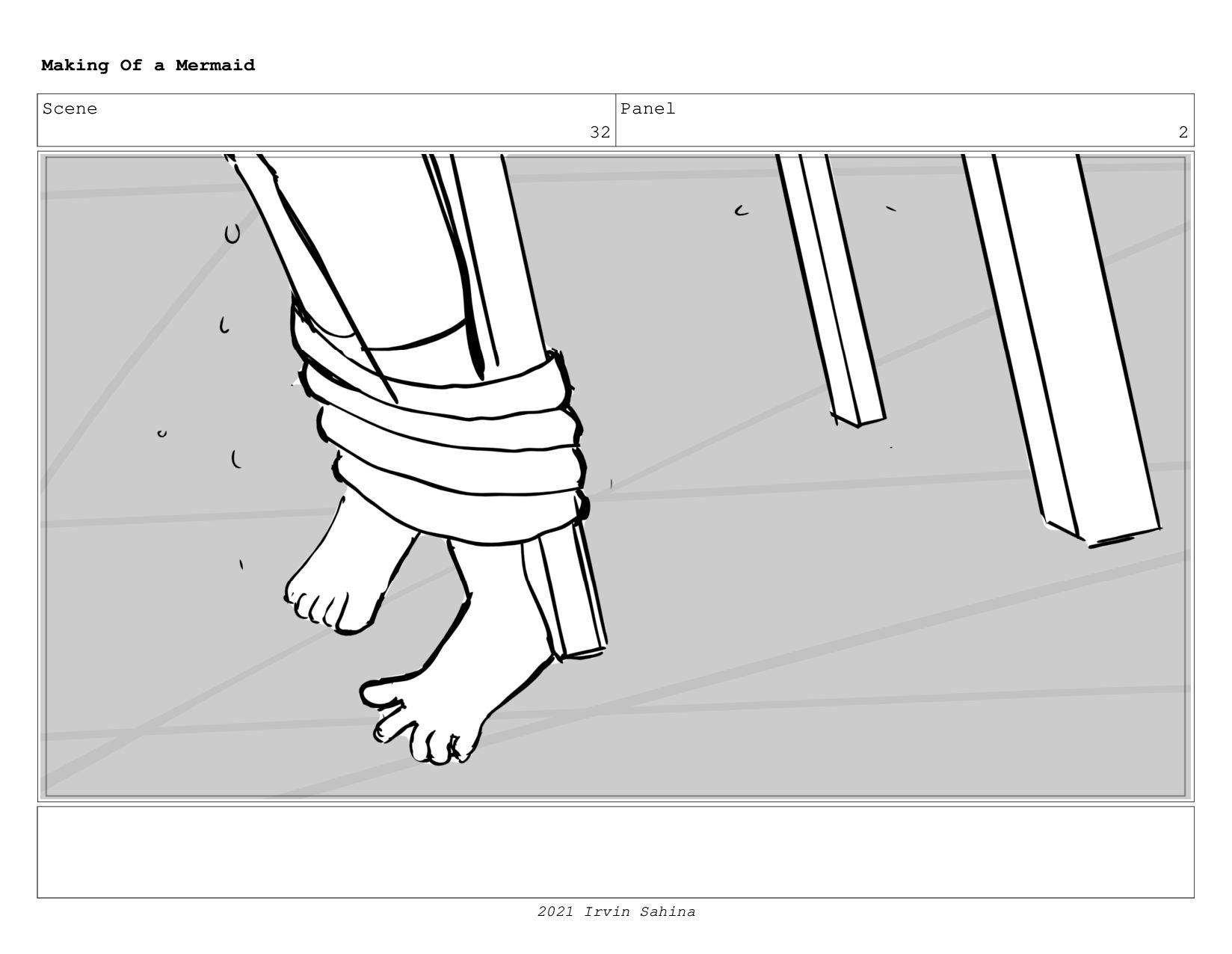 Scene 43 Panel 2 Making Of a Mermaid Updated 08...