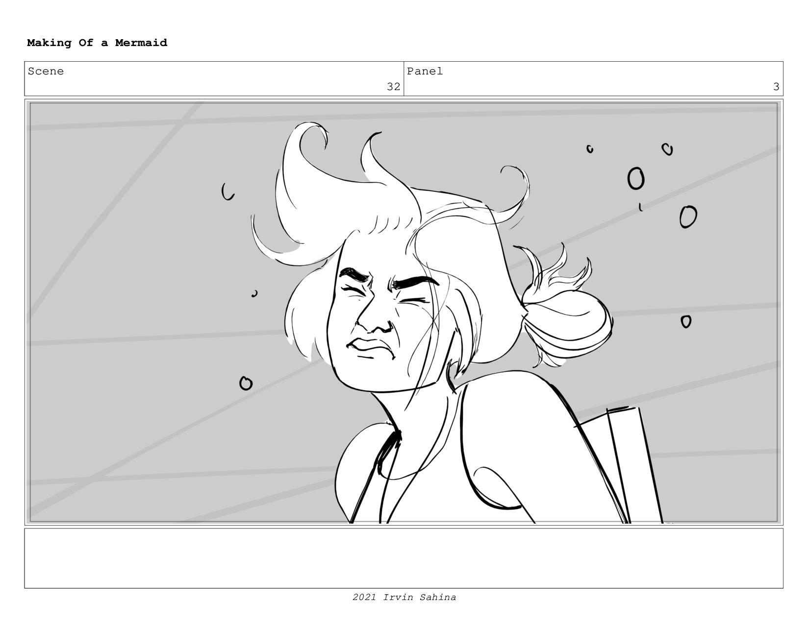 Scene 44 Panel 1 Making Of a Mermaid Updated 08...