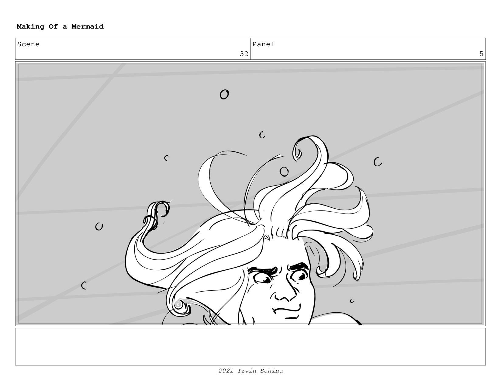 Scene 44 Panel 3 Making Of a Mermaid Updated 08...