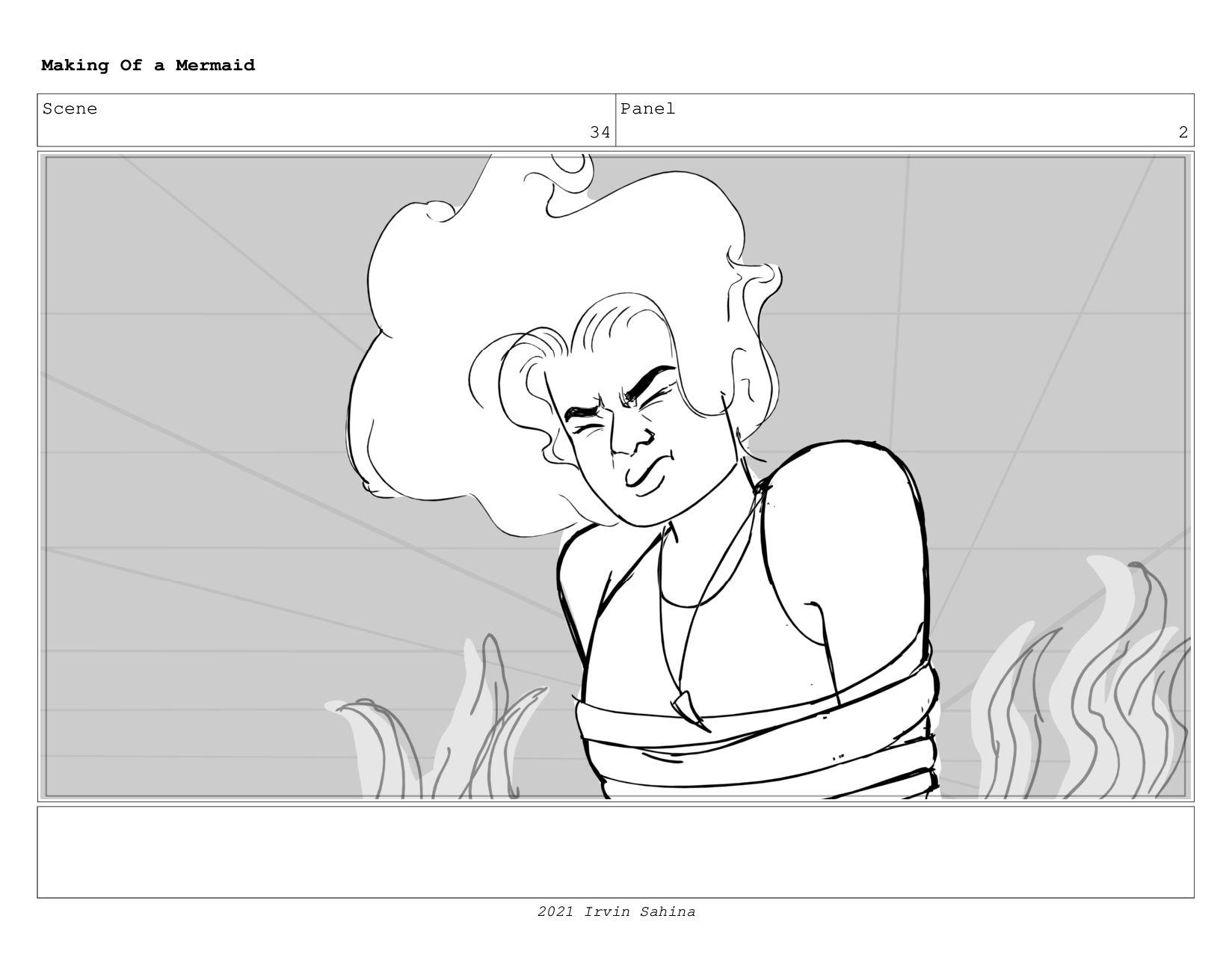 Scene 48 Panel 1 Making Of a Mermaid Updated 08...