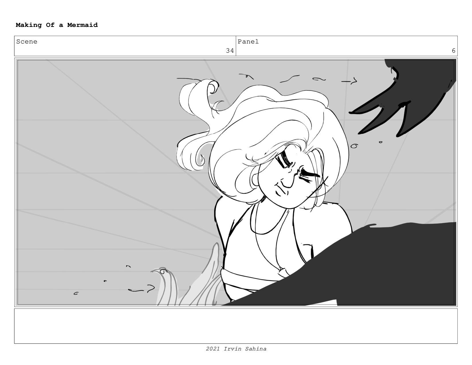 Scene 49 Panel 2 Making Of a Mermaid Updated 08...