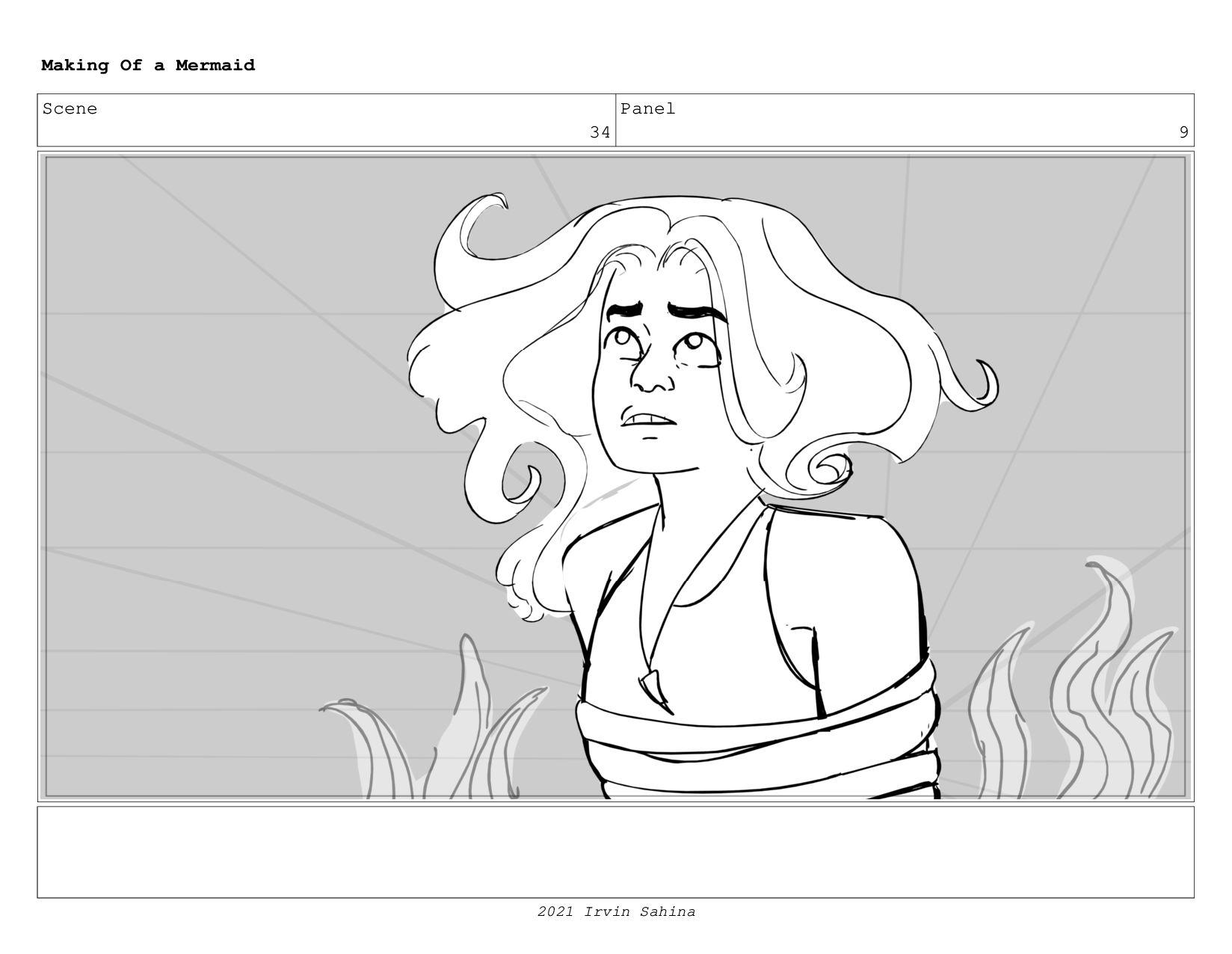 Scene 51 Panel 1 Making Of a Mermaid Updated 08...