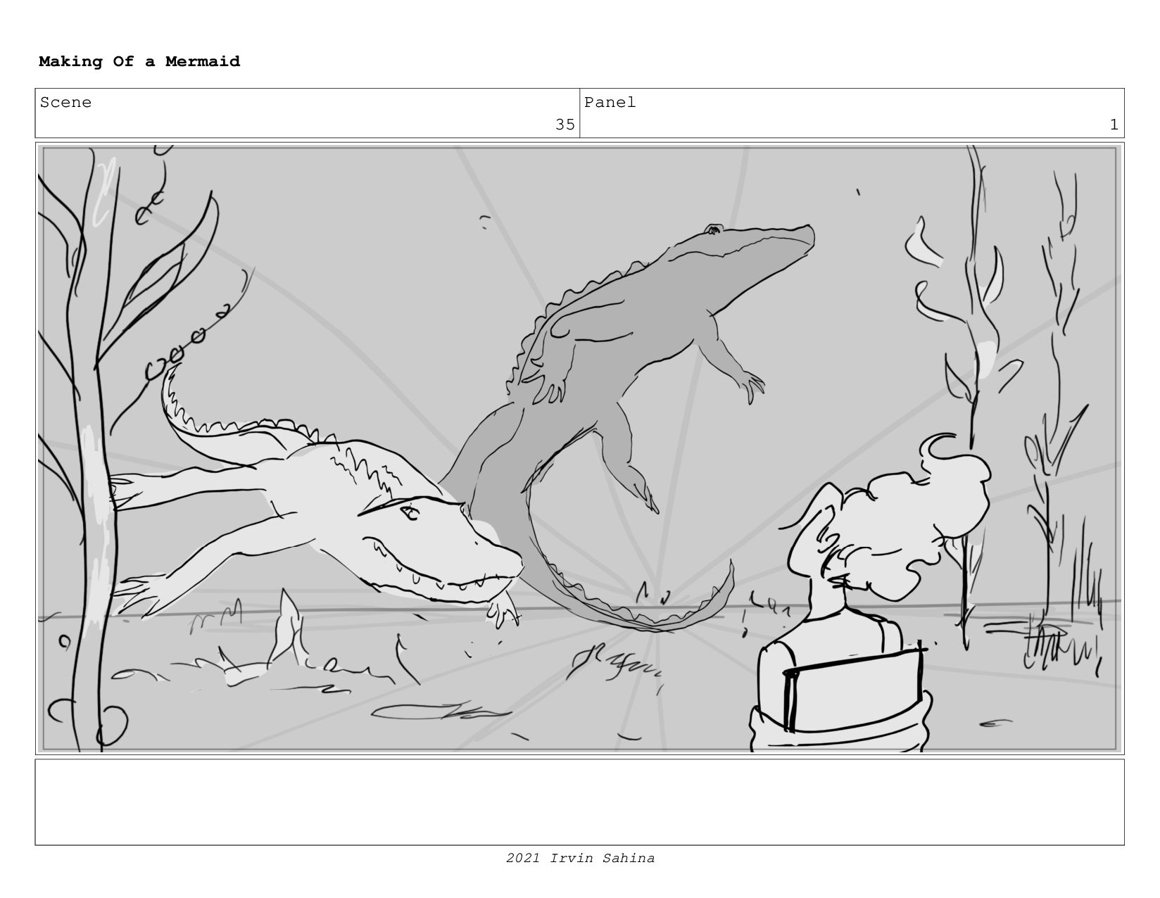 Scene 51 Panel 2 Making Of a Mermaid Updated 08...