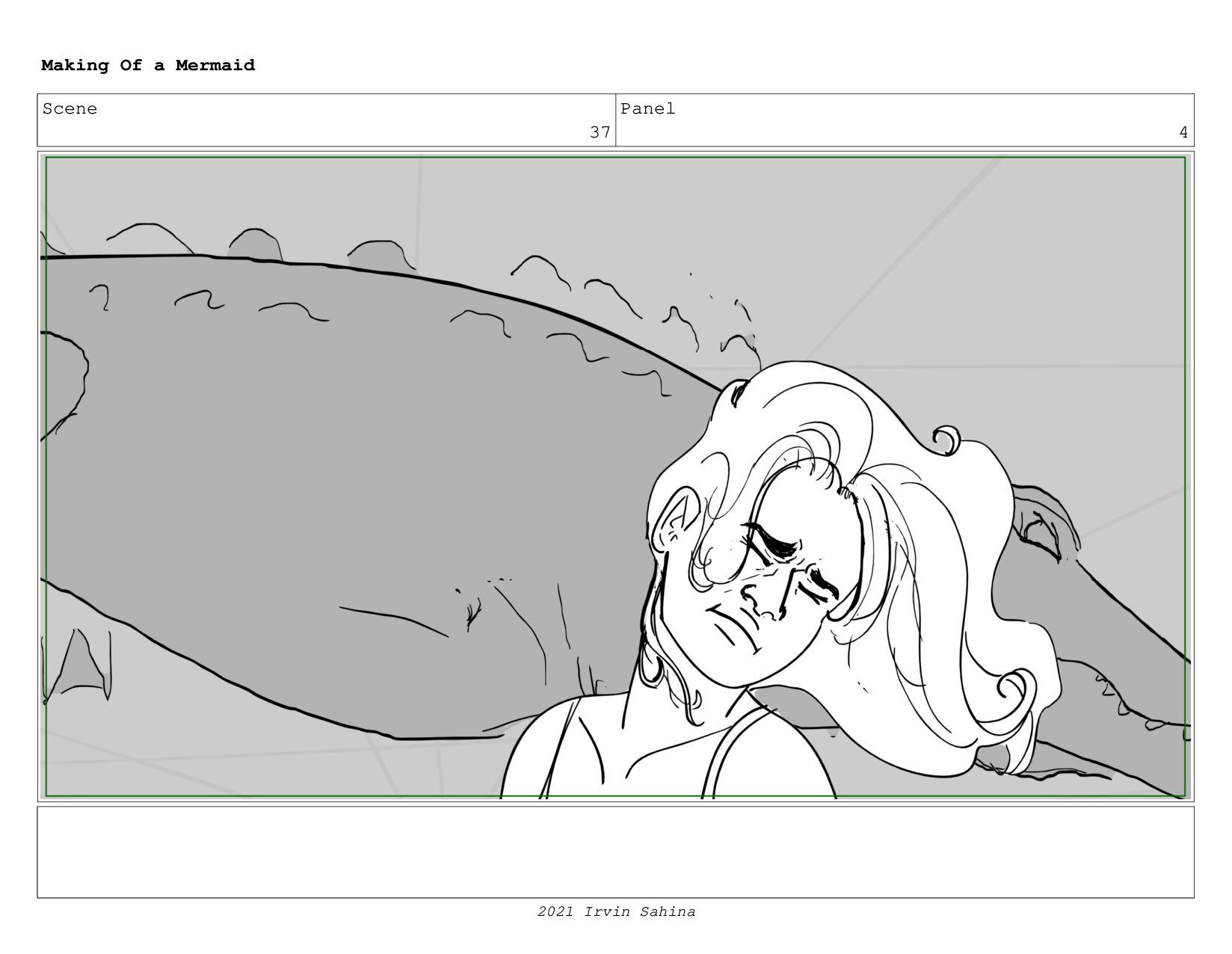 Scene 53 Panel 2 Making Of a Mermaid Updated 08...