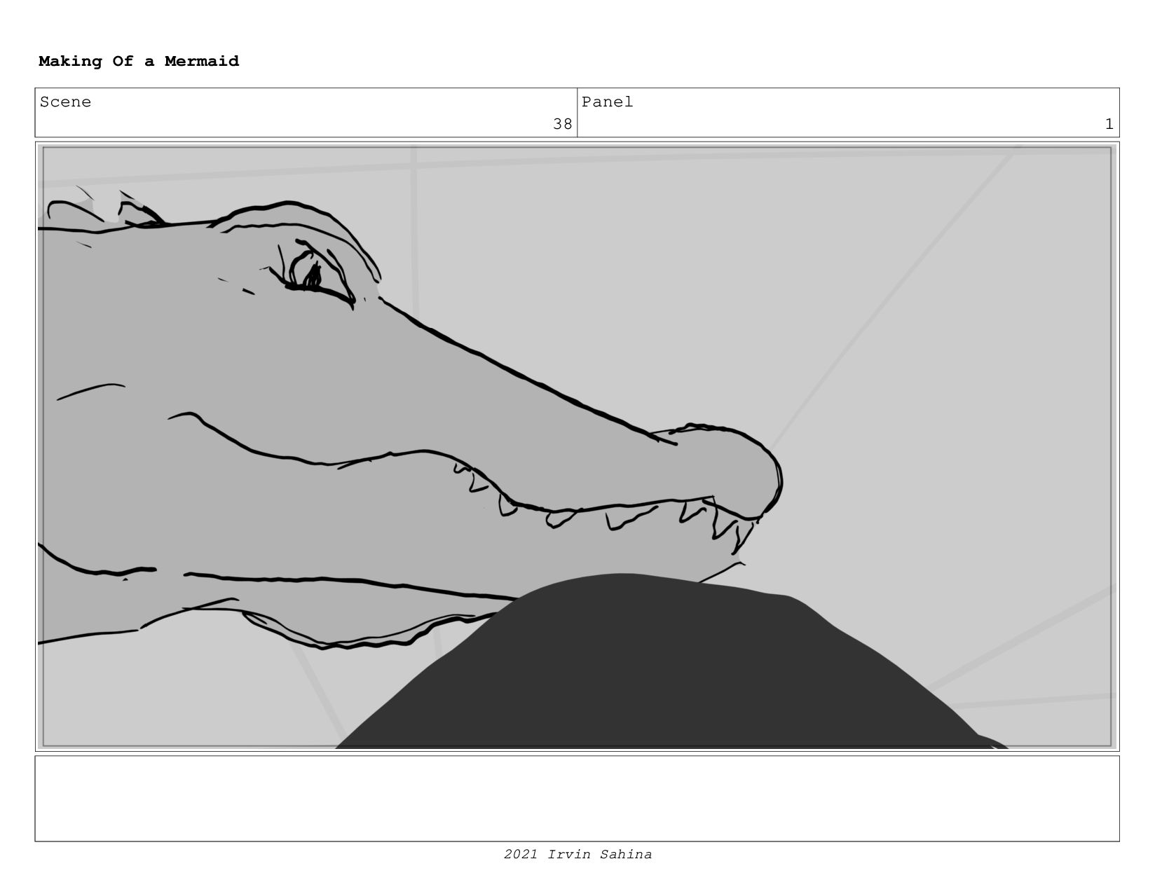 Scene 54 Panel 1 Making Of a Mermaid Updated 08...