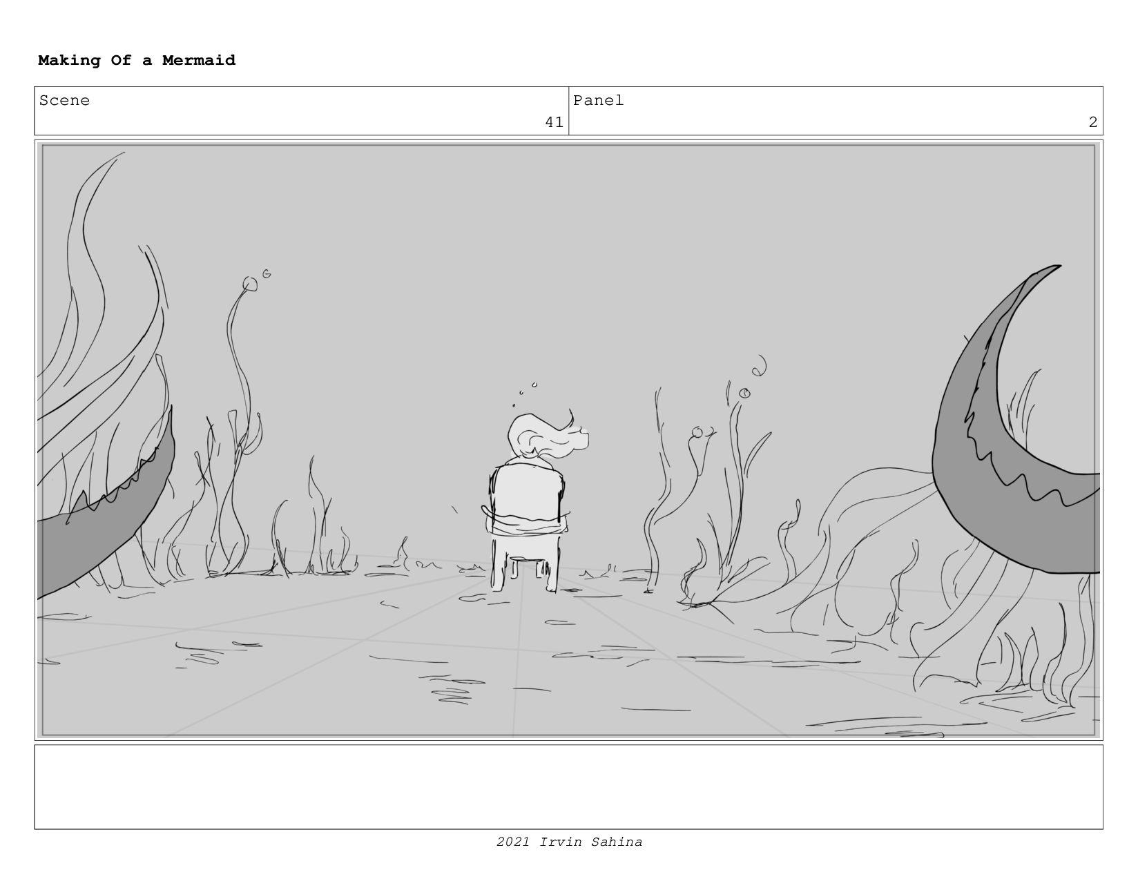 Scene 57 Panel 1 Making Of a Mermaid Updated 08...