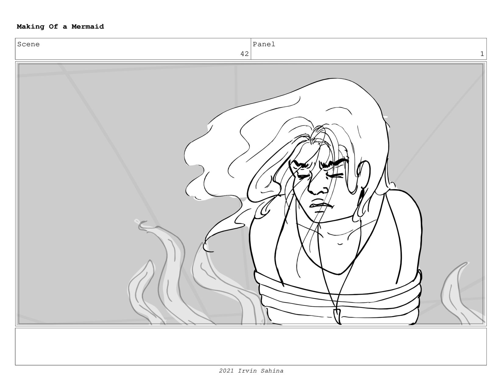 Scene 57 Panel 3 Making Of a Mermaid Updated 08...