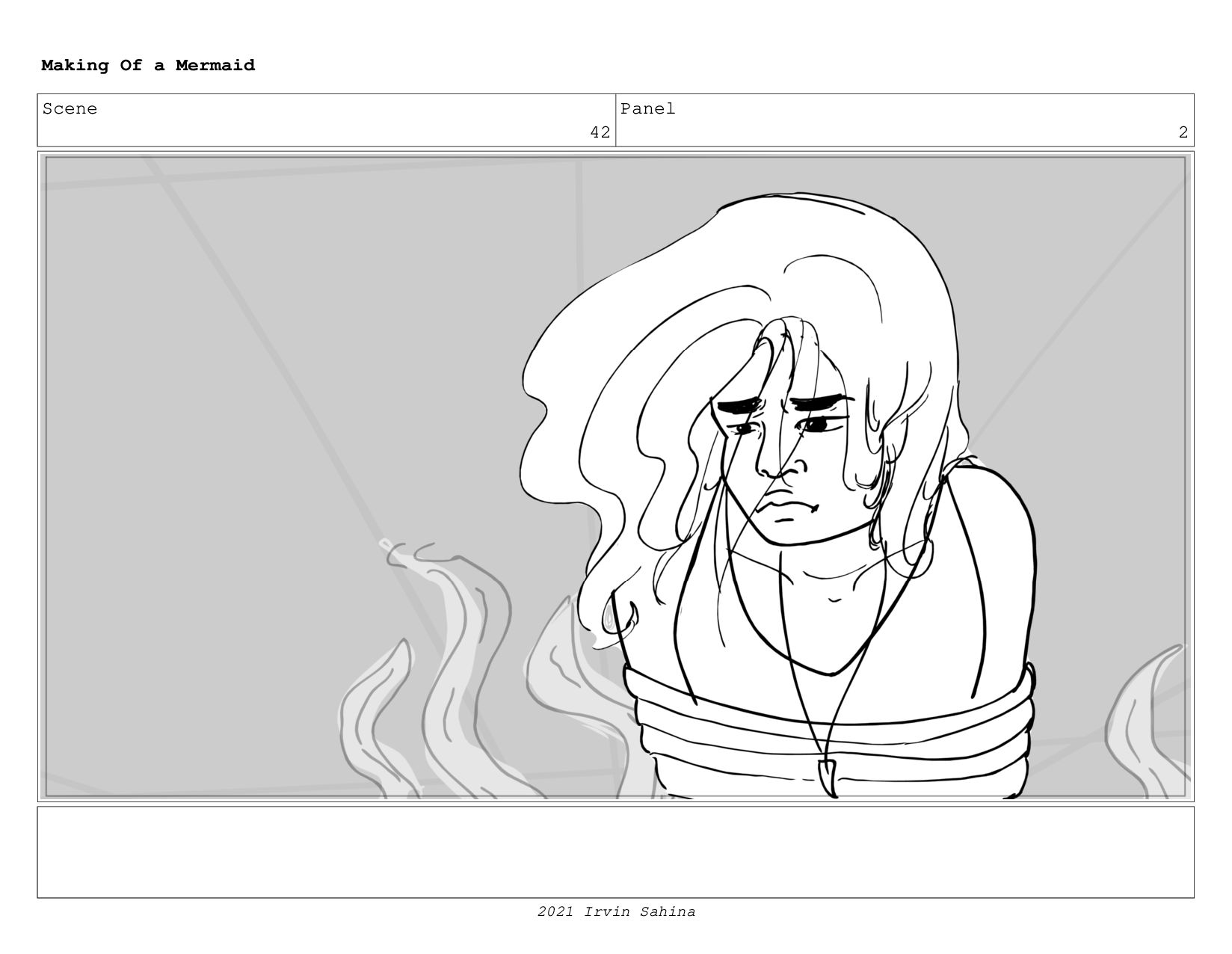 Scene 57 Panel 4 Making Of a Mermaid Updated 08...
