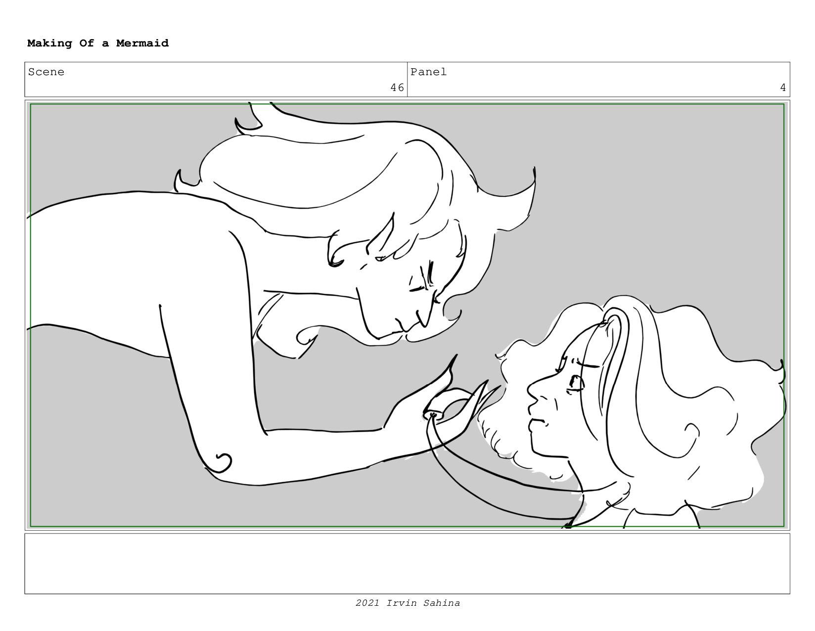 Scene 59 Panel 3 Making Of a Mermaid Updated 08...