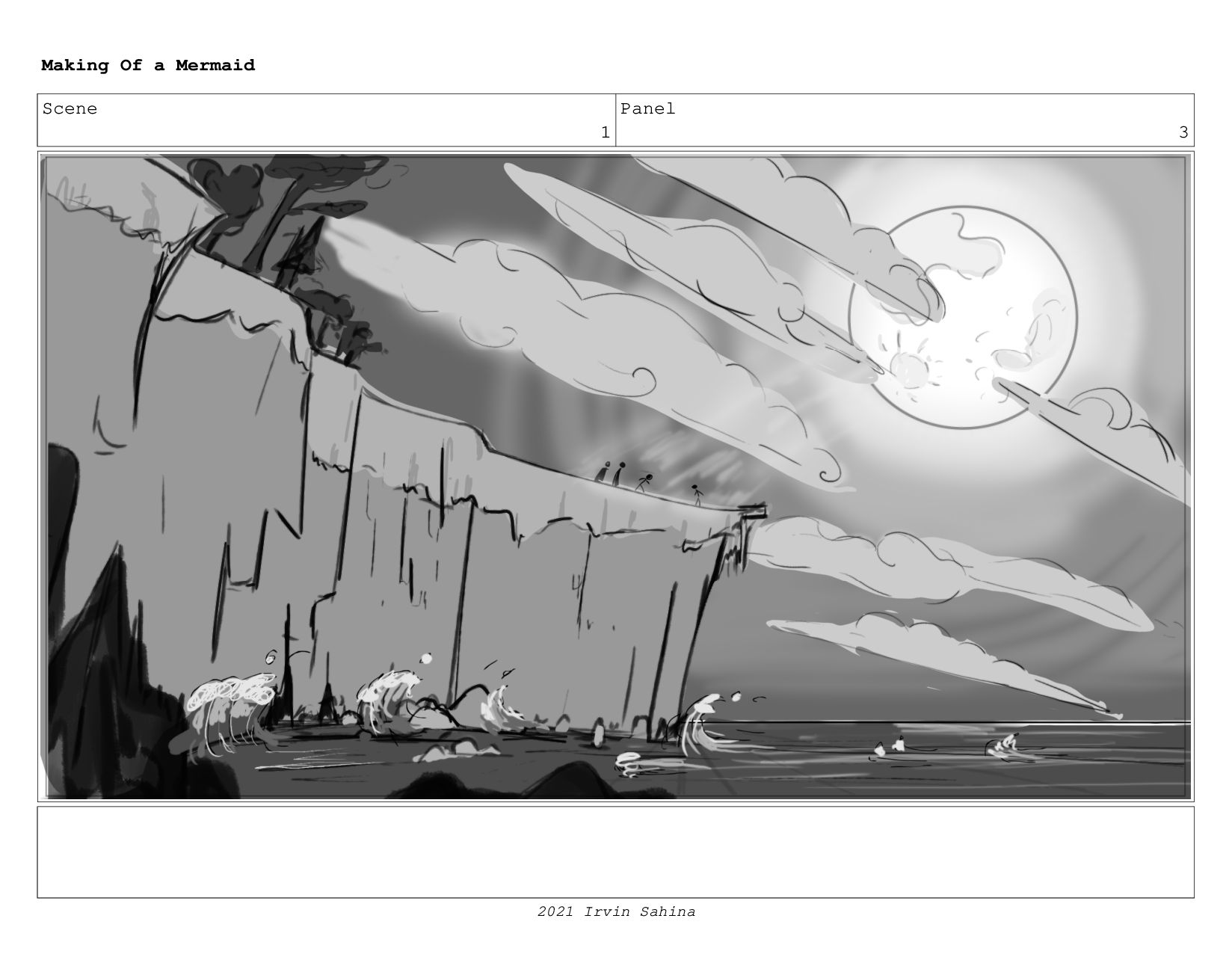 Scene 1 Panel 3 Making Of a Mermaid Updated 08/...