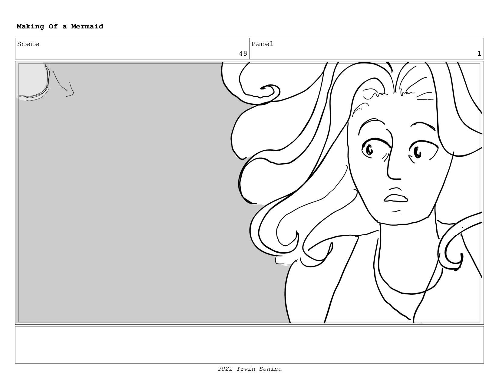 Scene 62 Panel 4 Making Of a Mermaid Updated 08...
