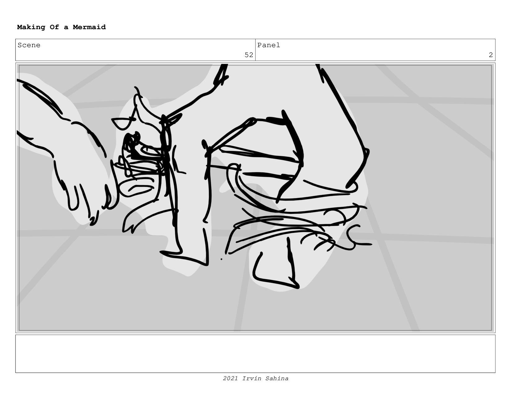 Scene 64 Panel 1 Making Of a Mermaid Updated 08...