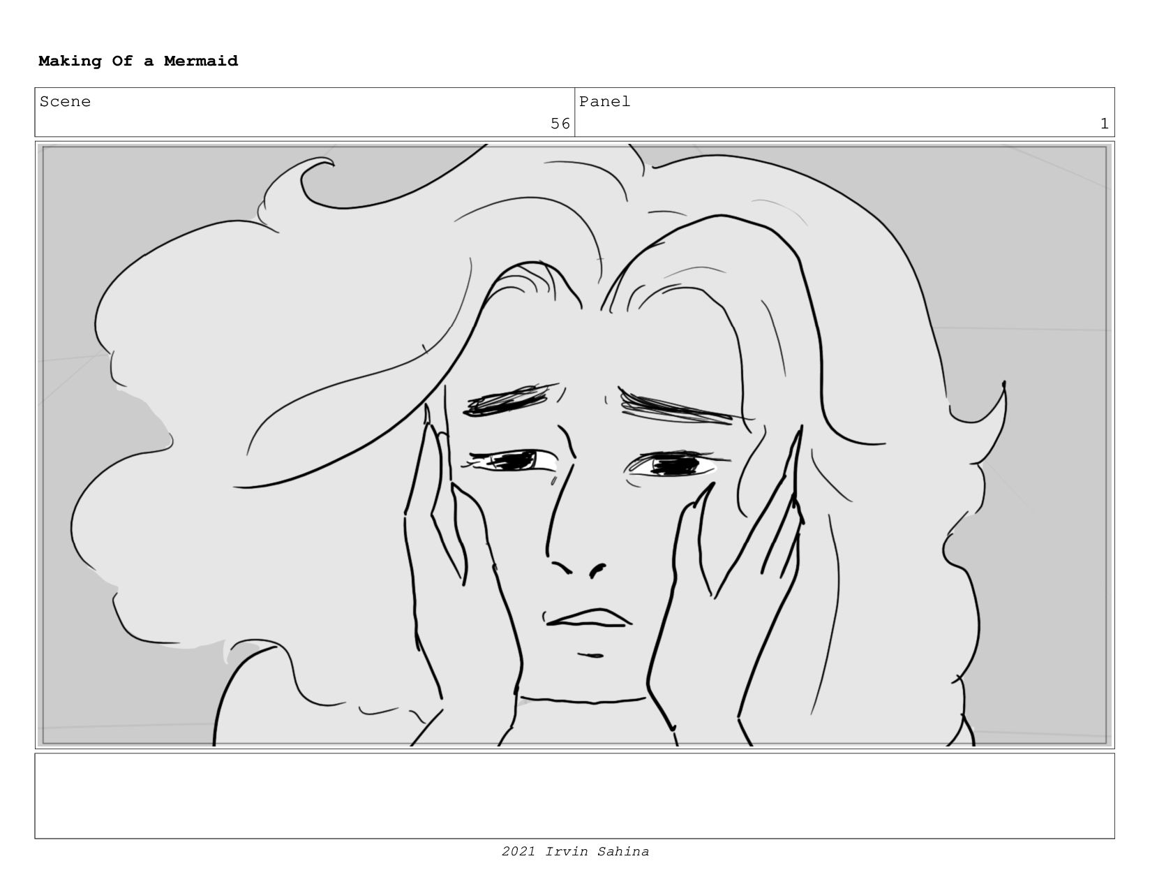 Scene 65 Panel 1 Making Of a Mermaid Updated 08...