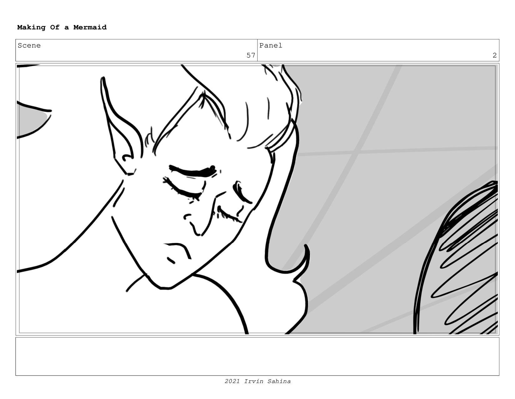 Scene 65 Panel 4 Making Of a Mermaid Updated 08...
