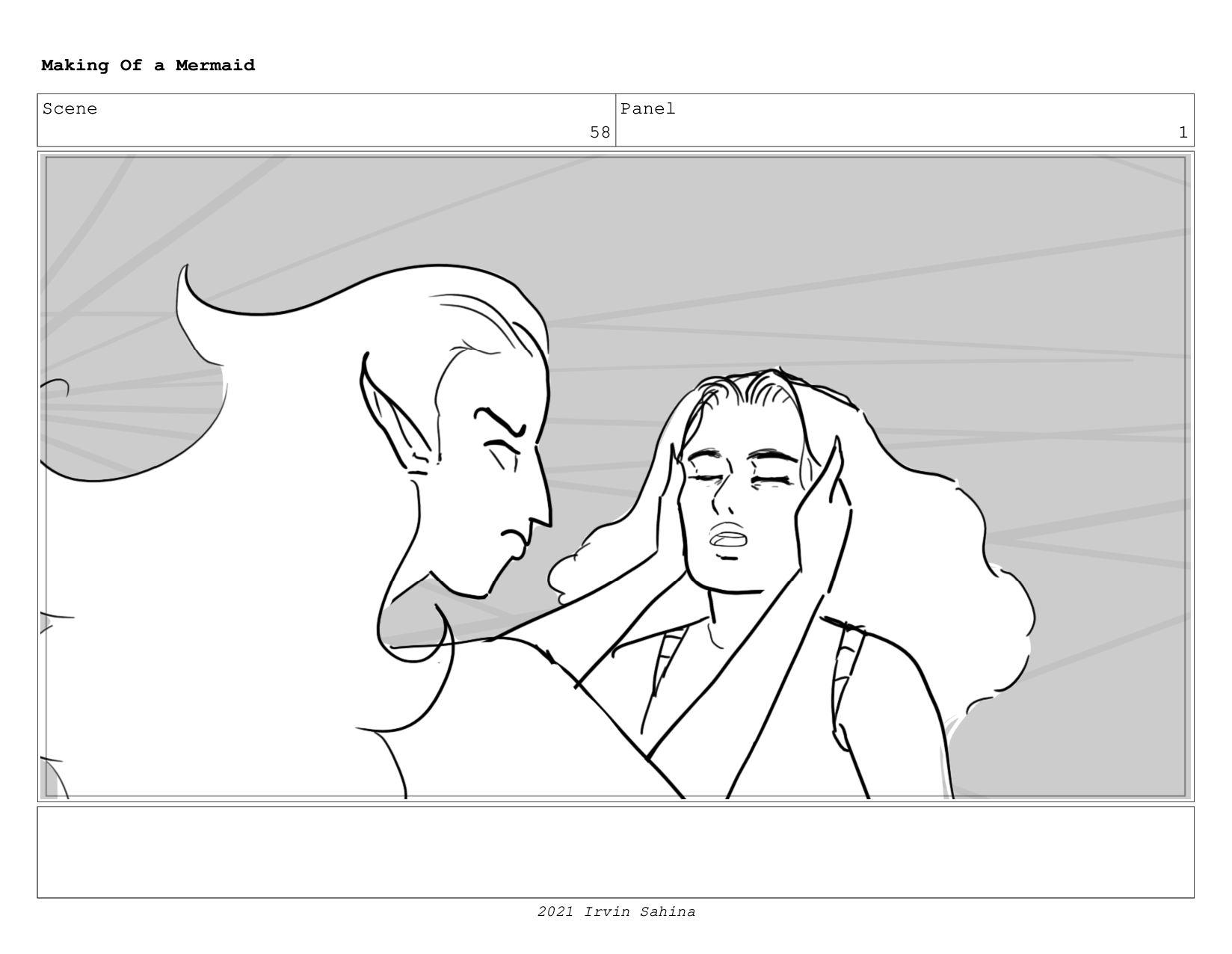 Scene 66 Panel 1 Making Of a Mermaid Updated 08...