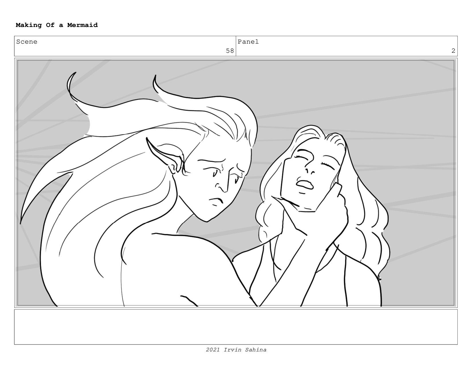 Scene 66 Panel 2 Making Of a Mermaid Updated 08...