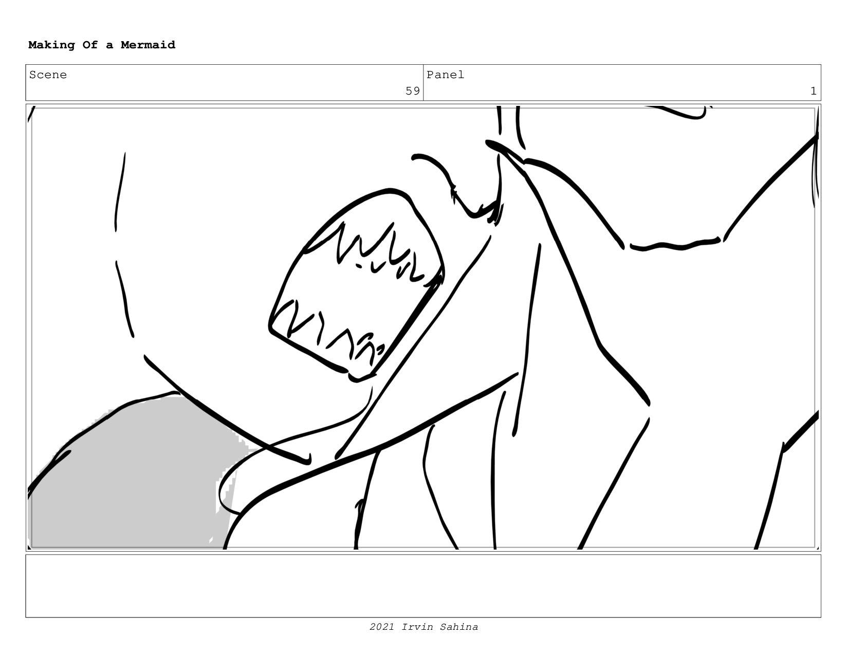 Scene 68 Panel 1 Making Of a Mermaid Updated 08...