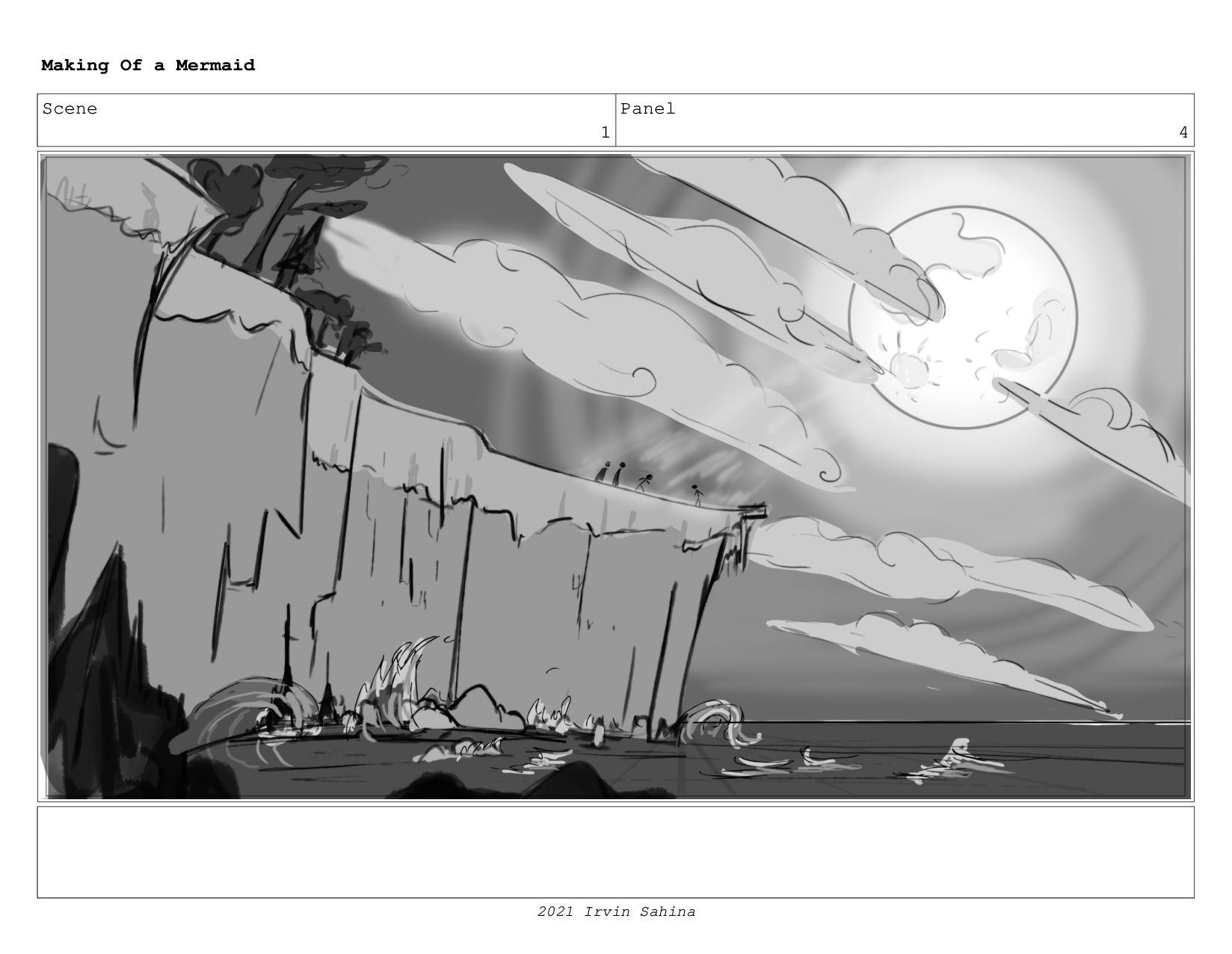 Scene 1 Panel 4 Making Of a Mermaid Updated 08/...