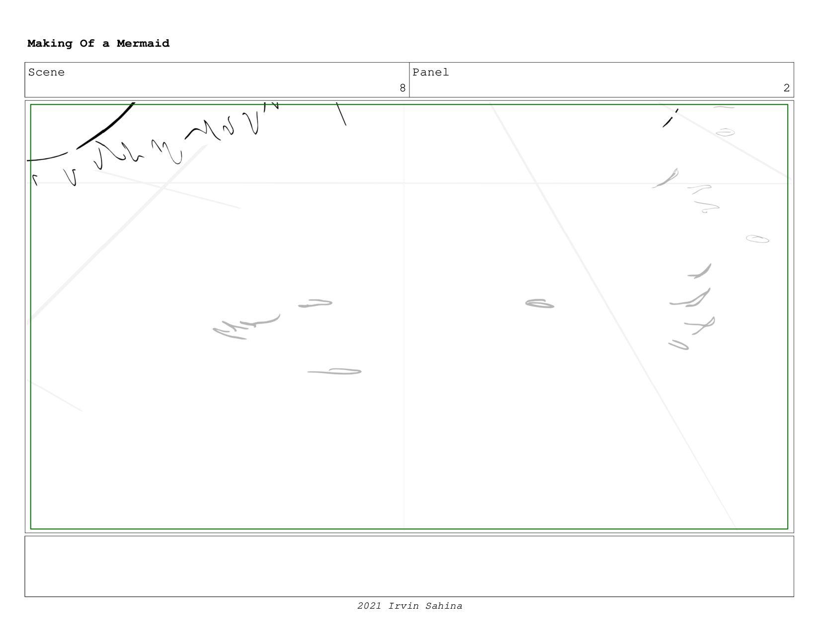 Scene 10 Panel 5 Making Of a Mermaid Updated 08...