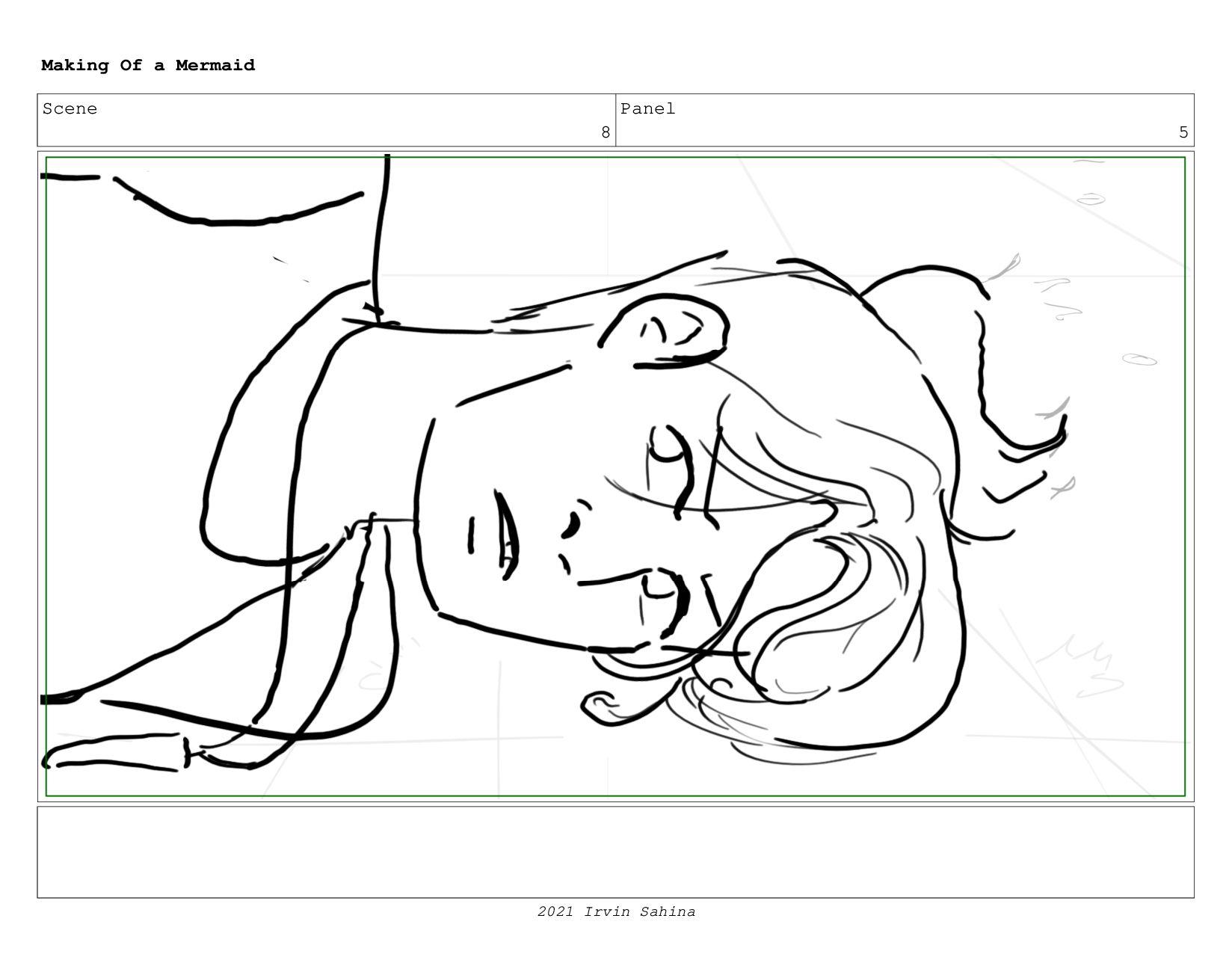 Scene 10 Panel 8 Making Of a Mermaid Updated 08...