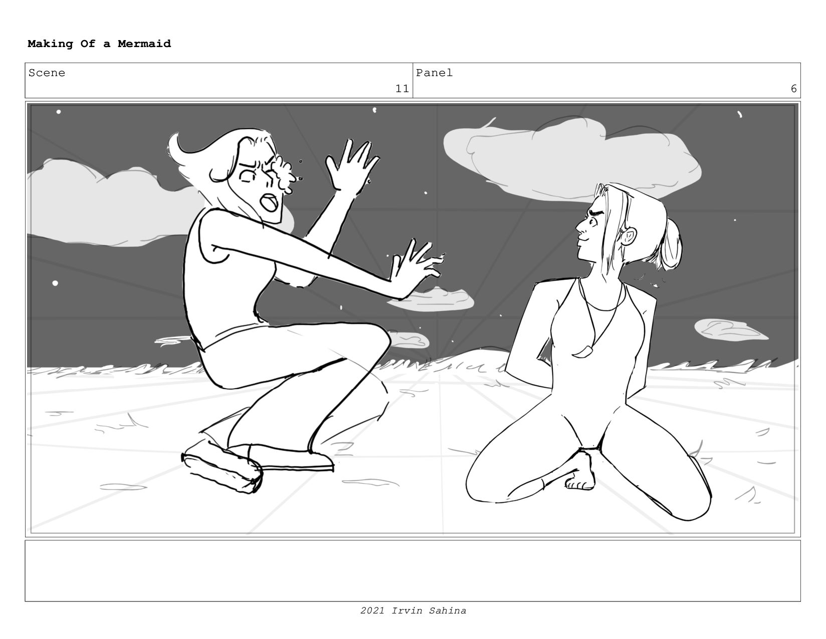 Scene 13 Panel 1 Dialog Billie-You Aint coming ...