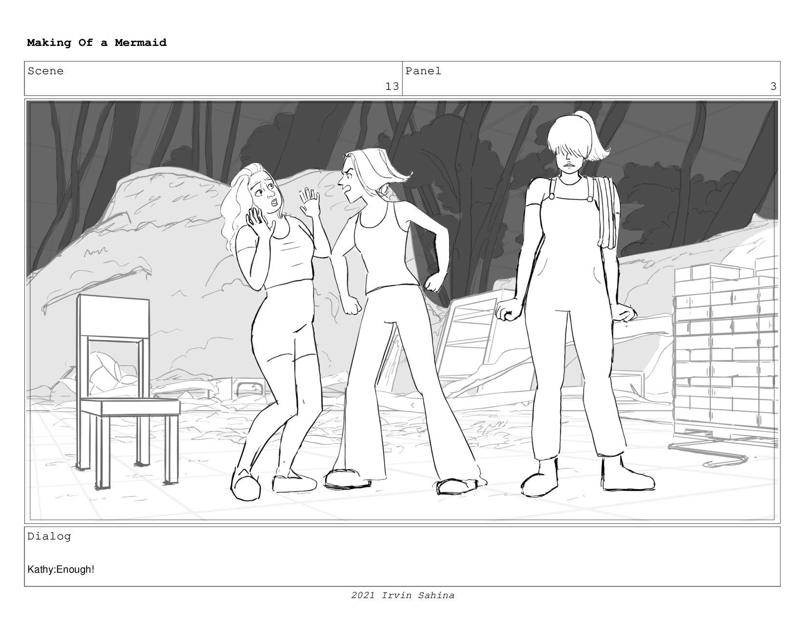 Scene 17 Panel 2 Making Of a Mermaid Updated 08...