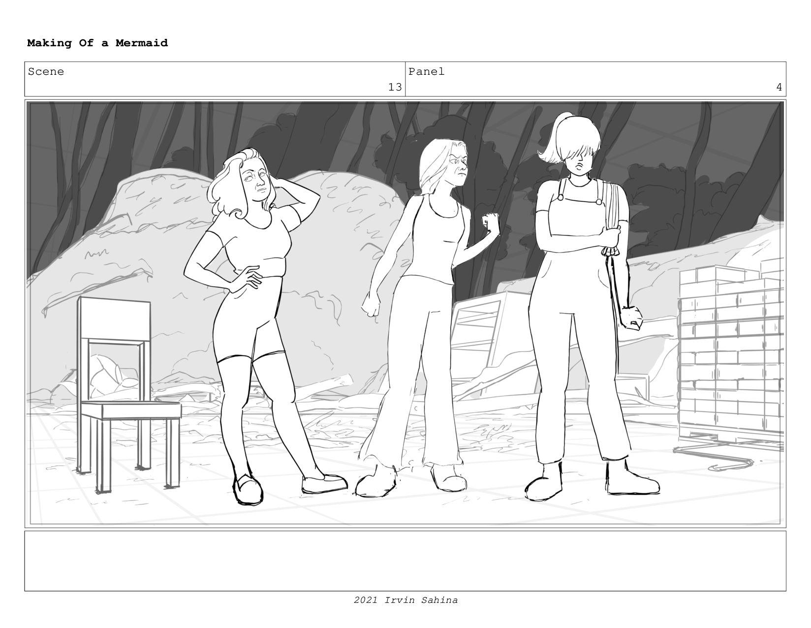 Scene 17 Panel 3 Making Of a Mermaid Updated 08...